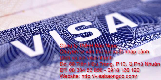 Dịch vụ chuyên làm visa toàn quốc