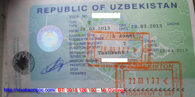 visa uzbekistan