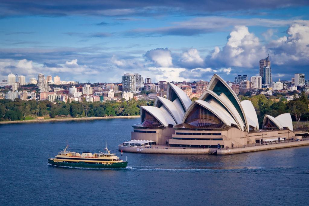 Sydney Opera House and Ferry