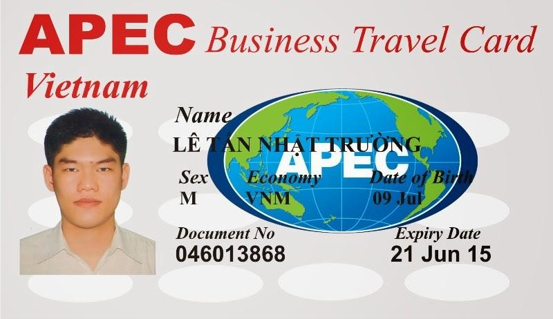 Bảo Ngọc là đơn vị làm thẻ APEC chuyên nghiệp - nhanh chóng - tiết kiệm
