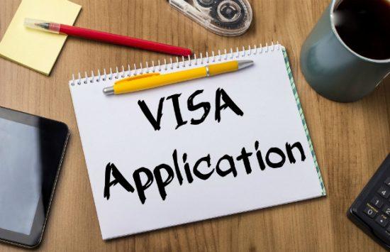 Kết quả hình ảnh cho nộp hồ sơ visa