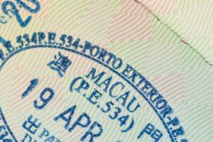Thủ tục xin visa Macau