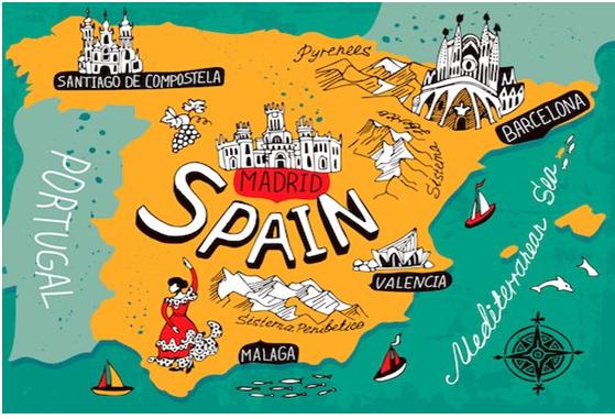 Địa điểm xin thị thực Tây Ban Nha