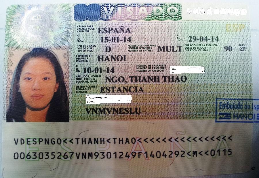 visa-tay-ban-nha-la-gi