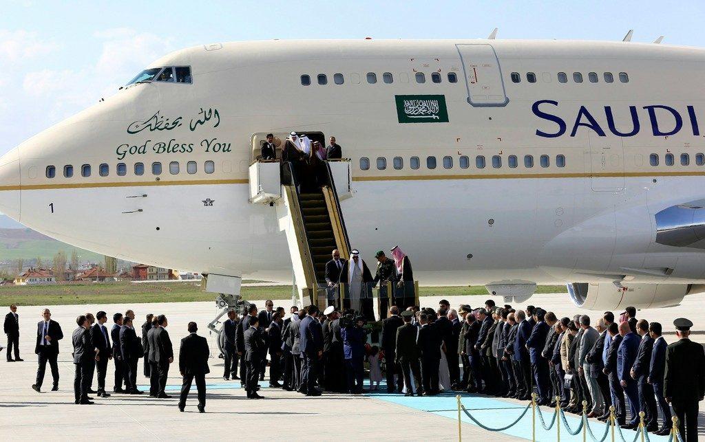 máy bay đi Arap Saudi