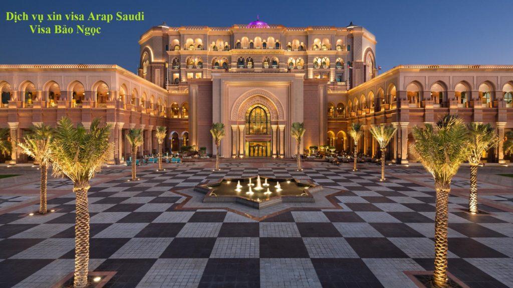 Dịch vụ xin visa Arap Saudi