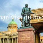 Gia hạn visa du học Nga