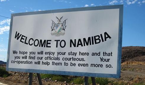 Quốc gia được Namibia miễn thị thực