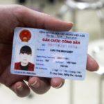 Mặt sau thẻ căn cước công dân
