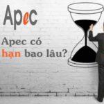 Thẻ APEC được đi bao lâu?